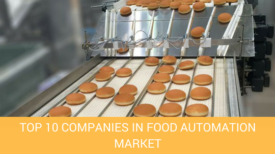 TOP 10 COMPANIES IN FOOD AUTOMATION MARKET