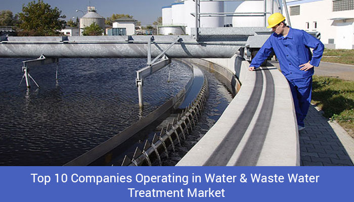 Top 10 Companies in Water and Wastewater Treatment Market