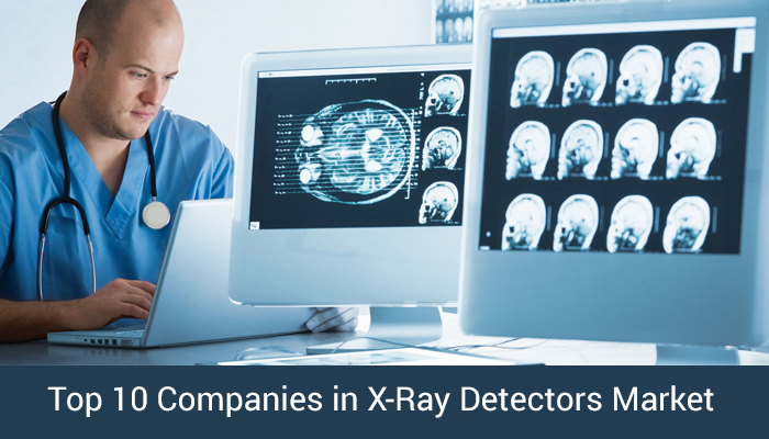 Top 10 companies in x-ray detectors market